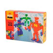 Plus-Plus Neon - Robotter, 170 stk