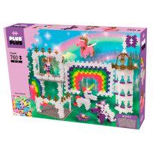 Plus-Plus Pastel - Slot, 760 stk inkl. plader