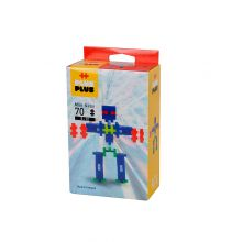 Plus-Plus Neon - Robotter, 70 stk