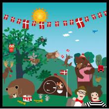 Popsi og Krelle Megakort - Fødselsdag