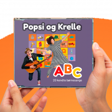Popsi og Krelle CD - ABC
