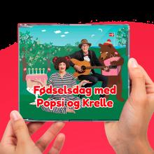 Popsi og Krelle CD- Fødselsdag med Popsi og Krelle