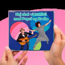 Popsi og Krelle CD - Hej skal vi tumle?