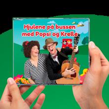 Popsi og Krelle CD - Hjulene på bussen