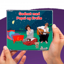 Popsi og Krelle CD - Popsi og Krelles godnatsange
