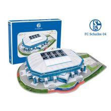 Puslespil 3D - Shalke 04 Stadion