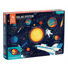 Puslespil, 70 brikker - Solsystemet