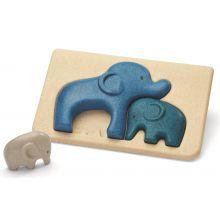 Puslespil m. elefanter