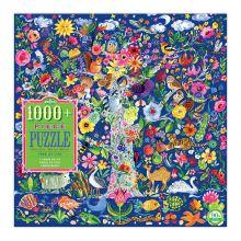 Puslespil med 1.000 brikker - Livets træ