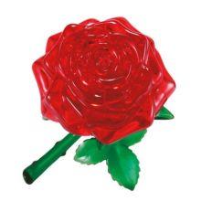Puslespil 3D krystal - Rose, 44 dele