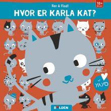 Rør & find: Hvor er Karla Kat?