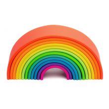Regnbue i silikone - Basisfarver, 12 dele