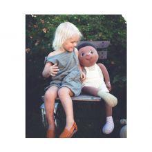 Rubens EcoBuds Giant dukke 70 cm. - Basil
