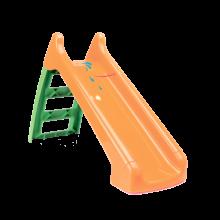 Rutschebane i plast med vandtilslutning