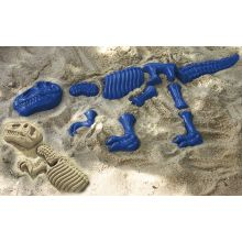 Sandforme - Dinosaur-skelet, 10 dele