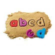 Sandforme - Små bogstaver, 26 dele