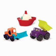 Sandleg - Køretøjer og båd
