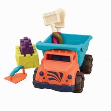 Sandleg - Lastbil m. tilbehør, 6 dele
