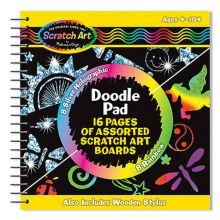 Scratch Art - Skrabekunst Spiralblok