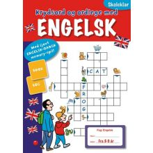Skoleklar: Krydsord og ordlege med engelsk