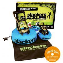 Slackers Slackline inkl. hjælpe line
