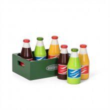 Legemad - Sodavand i kasse, 6 stk.