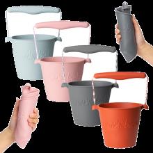Spand i silikone - Foldbar - Nordiske farver