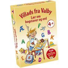Spil - Villads fra Valby, Lær om bogstaver og ord