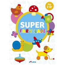 Super Farvelade - Fra 2 år