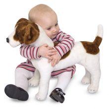 Tøjdyr i plys - Jack Russell Terrier