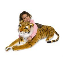 Tøjdyr i plys - Tiger
