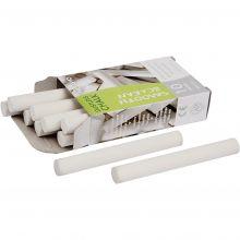 Tavlekridt - Hvid, 10 stk