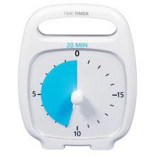 Time Timer PLUS Hvid (14x18 cm.) - 20 min.