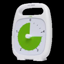 Time Timer PLUS Hvid (14x18 cm.) - 5 min.