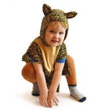 Udklædning - Babydragt, Leopard