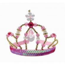 Udklædning - Diadem, Pink