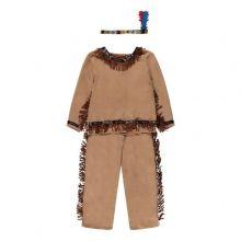 Udklædning - Indianerdragt