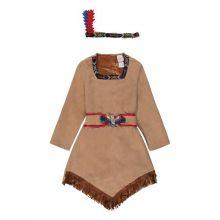 Udklædning - Indianerkjole