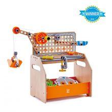 Junior Opfinder - Værktøjsbord m. eksperimenter