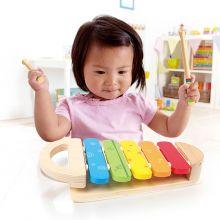 Xylofon i regnbuefarver