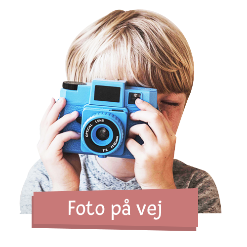 Dukketøj - Strikkjole m. mønster - Flere str.
