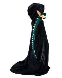 Udklædning - Kappe med drage
