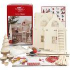 Kreativitetssæt - Julemandens hus