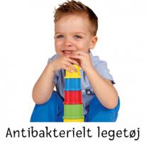 Antibakterielt legetøj