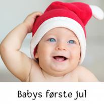 Babys første jul