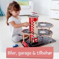 Biler, garage & tilbehør