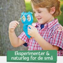 Eksperimenter & Naturleg for de små