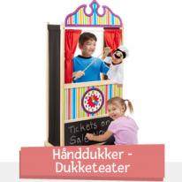 Hånddukker - Dukketeater