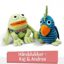 Hånddukker - Kaj & Andrea