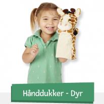 Hånddukker - Dyr